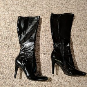 74dfcdd8010 Marc fisher faux leather boots! Brand new!